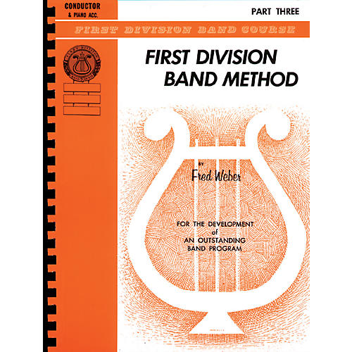 Alfred First Division Band Method Part 3 Baritone (B.C.)