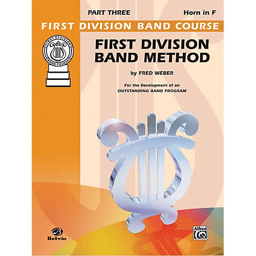 Alfred First Division Band Method Part 3 Horn in F-thumbnail