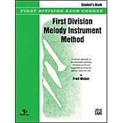 Alfred First Division Melody Instrument Method Student's Book