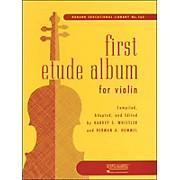 Hal Leonard First Etude Album for Violin First Position