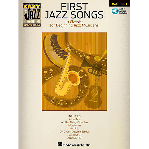 Hal Leonard First Jazz Songs - Easy Jazz Play-Along Vol. 1 Book/CD