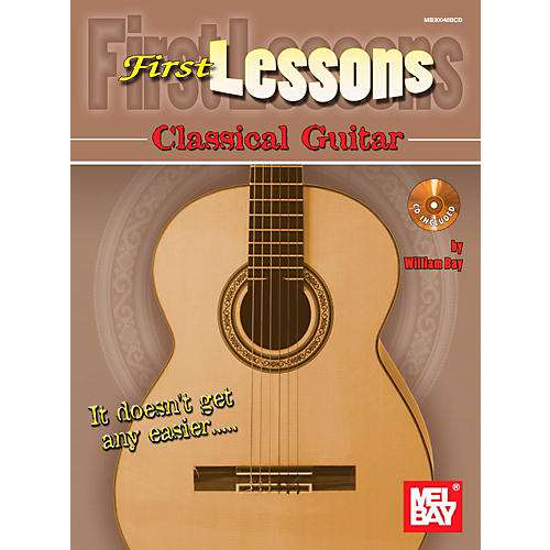Mel Bay First Lessons Classical Guitar-thumbnail