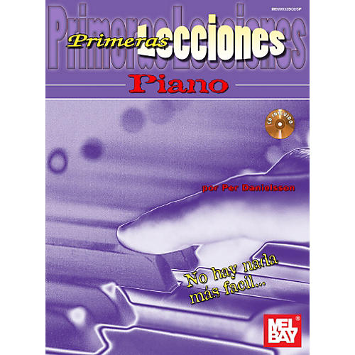 Mel Bay First Lessons Piano, Spanish Edition Book/CD Set-thumbnail