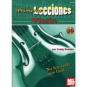 Mel Bay First Lessons Violin Spanish Edition Book/CD Set by Mel Bay