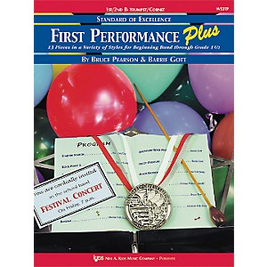 KJOS First Performance Plus 1st/2nd Bflat Trumpet/Cornet Book by KJOS