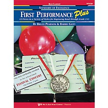 KJOS First Performance Plus Bflat Bass Clarinet Book