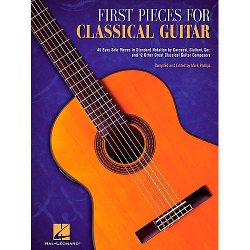 Hal Leonard First Pieces For Classical Guitar (No Tab)