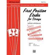 BELWIN First Position Etudes for Strings Score