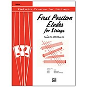 BELWIN First Position Etudes for Strings Violin