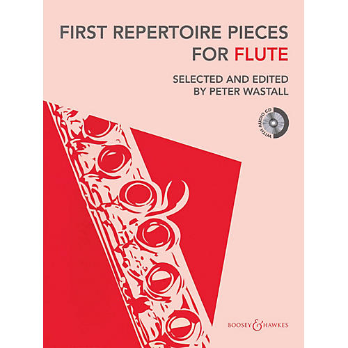 Hal Leonard First Repertoire Pieces For Flute Book/CD Includes Piano Accompaniment