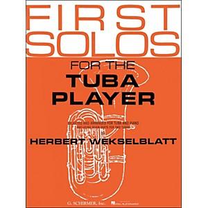 G. Schirmer First Solos for Tuba Player by G Schirmer