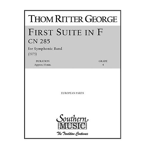 Southern First Suite in F Concert Band Level 4 Arranged by R. Mark Rogers
