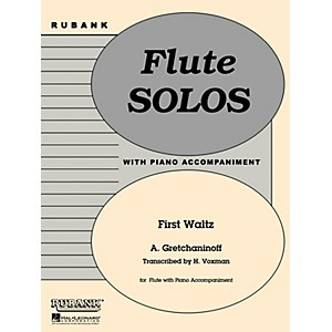 Rubank Publications First Waltz Flute Solo with Piano - Grade 1 Rubank So... by Rubank Publications