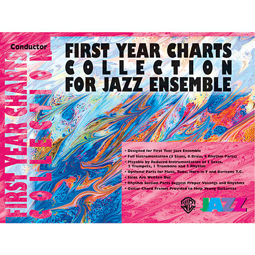 Alfred First Year Charts Collection for Jazz Ensemble 2nd E-Flat Alto Saxophone