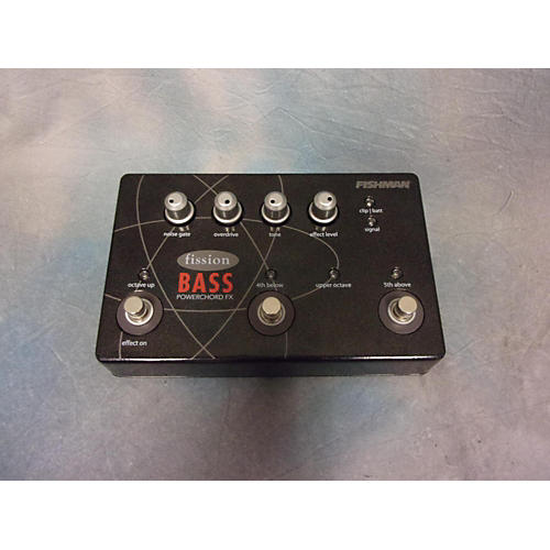 Fishman Fission Bass Bass Effect Pedal