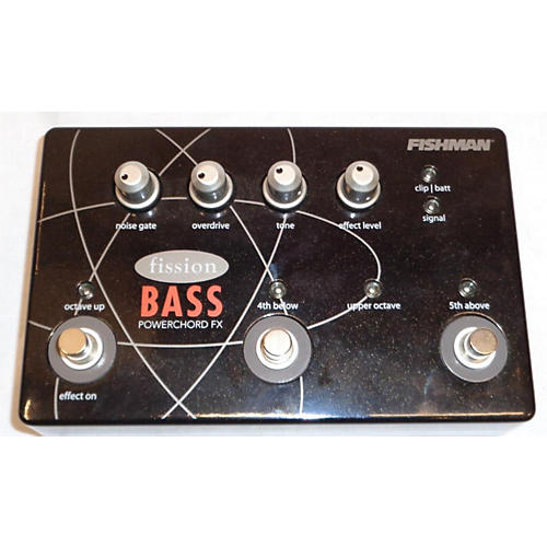 Fishman Fission Bass Powerchord Bass Effect Pedal