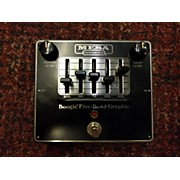 Mesa Boogie Five-Band Graphic Pedal