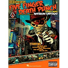 Hal Leonard Five Finger Death Punch - American Capitalist Guitar Tab Songbook