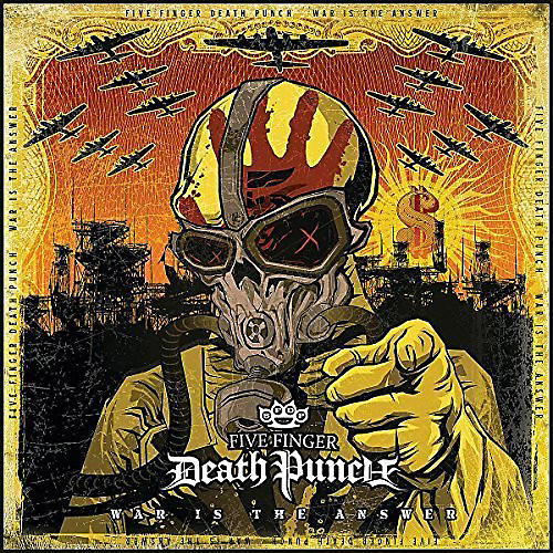 Alliance Five Finger Death Punch - War Is the Answer (Beer Coloured Vinyl)