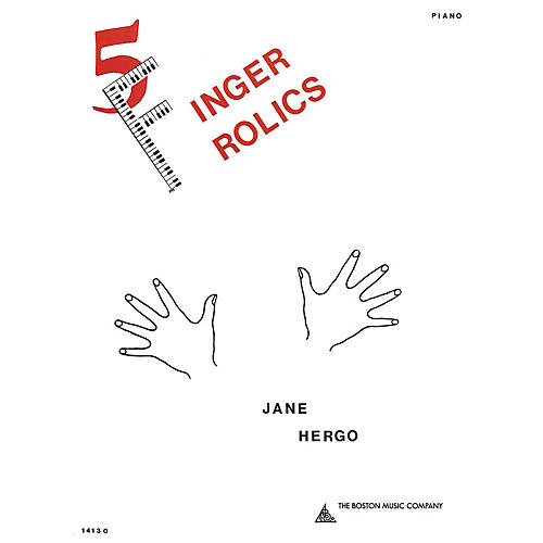 Music Sales Five Finger Frolics Music Sales America Series Softcover Composed by Jane Hergo