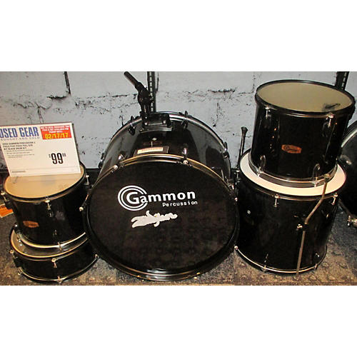 Gammon Percussion Five Piece Full Size Kit Drum Kit-thumbnail