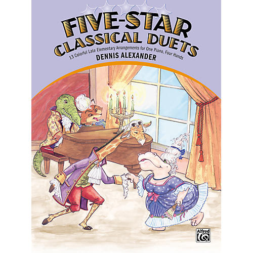 Alfred Five-Star Classical Duets Late Elementary Piano-thumbnail