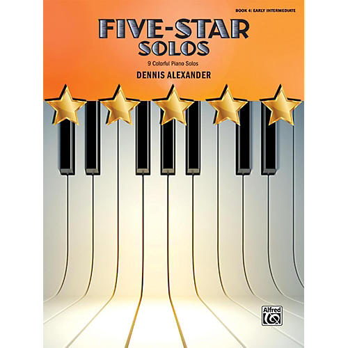 Alfred Five-Star Solos, Book 4 Early Intermediate-thumbnail
