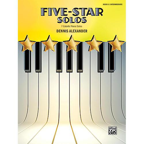 Alfred Five-Star Solos, Book 5 Intermediate