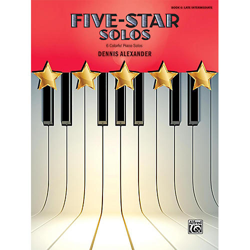 Alfred Five-Star Solos, Book 6 Late Intermediate-thumbnail