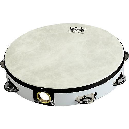 Remo Fixed Head Tambourines White 6