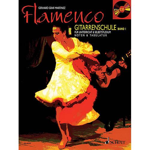 Schott Flamenco Gitarrenschule Band 1 (Book/CD Pack, German Language) Schott Series