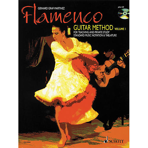 Schott Flamenco Guitar Method Volume 1 Book with CD-thumbnail