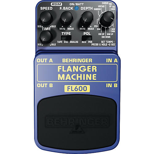 Behringer Flanger Machine FL600 Guitar Effects Pedal-thumbnail