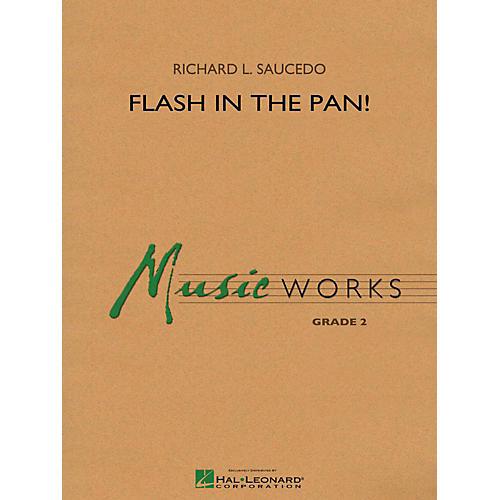 Hal Leonard Flash in the Pan! - MusicWorks Grade 2 Concert Band-thumbnail