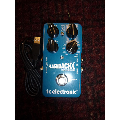 TC Electronic Flashback Delay And Looper Effect Pedal-thumbnail