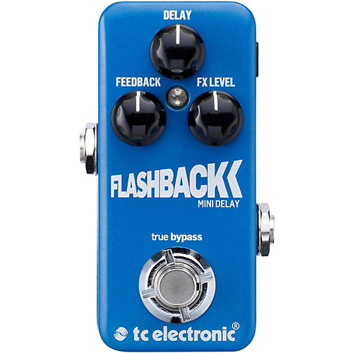 TC Electronic Flashback Mini Delay Guitar Effects Pedal-thumbnail