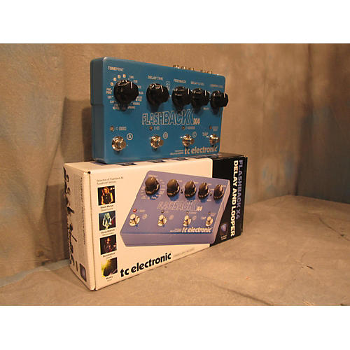 TC Electronic Flashback X4 Delay And Looper Effect Pedal-thumbnail