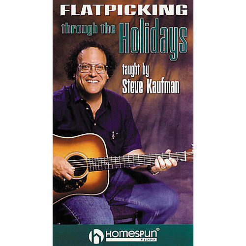 Homespun Flatpicking Through the Holidays (VHS)