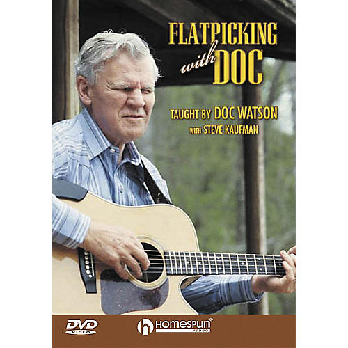 Homespun Flatpicking with Doc (DVD)-thumbnail