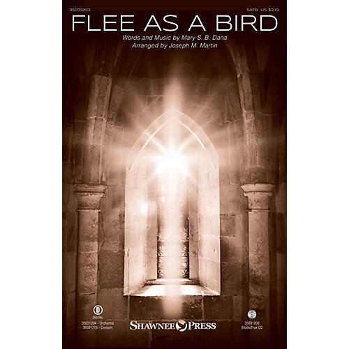 Shawnee Press Flee As a Bird SATB arranged by Joseph M. Martin
