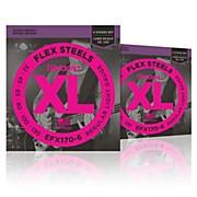 FlexSteels Long Scale Bass Strings (32-130) 6-String - 2-Pack
