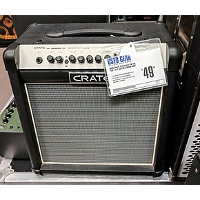 used crate flexwave fw15r 15w 1x12 guitar combo amp guitar center. Black Bedroom Furniture Sets. Home Design Ideas