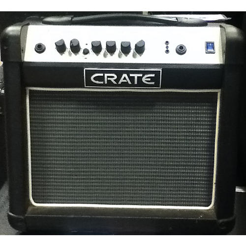 used crate flexwave series fw15 15w 1x8 guitar combo amp guitar center. Black Bedroom Furniture Sets. Home Design Ideas