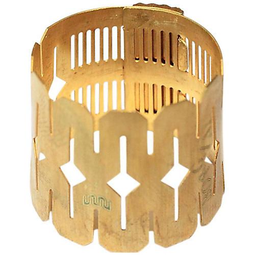 Rigotti Flexitone Ligature for Eb Clar, Soprano Sax Ebonite, Alto Sax Metal, Tenor Sax Metal Small Model Bronze-thumbnail