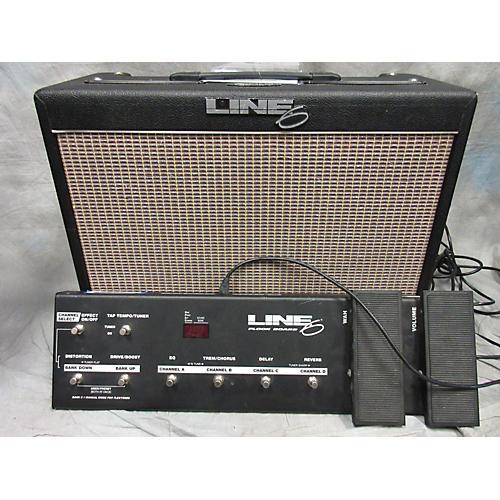 Line 6 Flextone II With Floor Board Guitar Combo Amp
