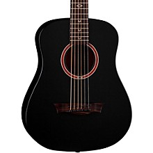Flight Series Travel Acoustic Guitar Satin Black