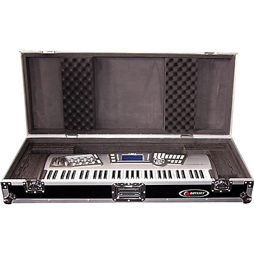 Odyssey Flight Zone: Keyboard case for 61 note keyboards with wheels-thumbnail