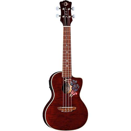 Luna Guitars Flora Concert Ukulele-thumbnail