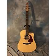 Luna Guitars Flora Rose Acoustic Electric Guitar