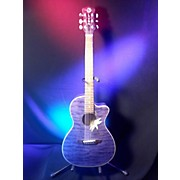 Luna Guitars Flora Series Passionflower Acoustic Electric Guitar